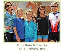 Tom Hale and family